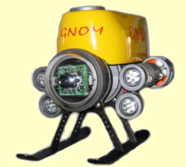 Робот для подводной съемки